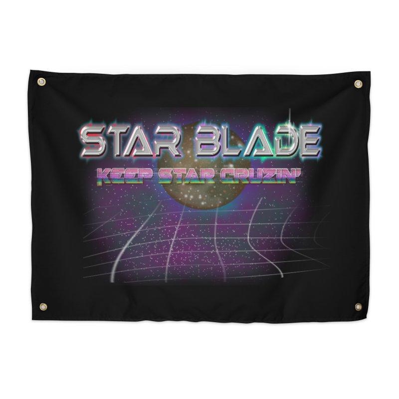 Star Blade Keep Star Cruzin' Home Tapestry by LlamapajamaTs's Artist Shop