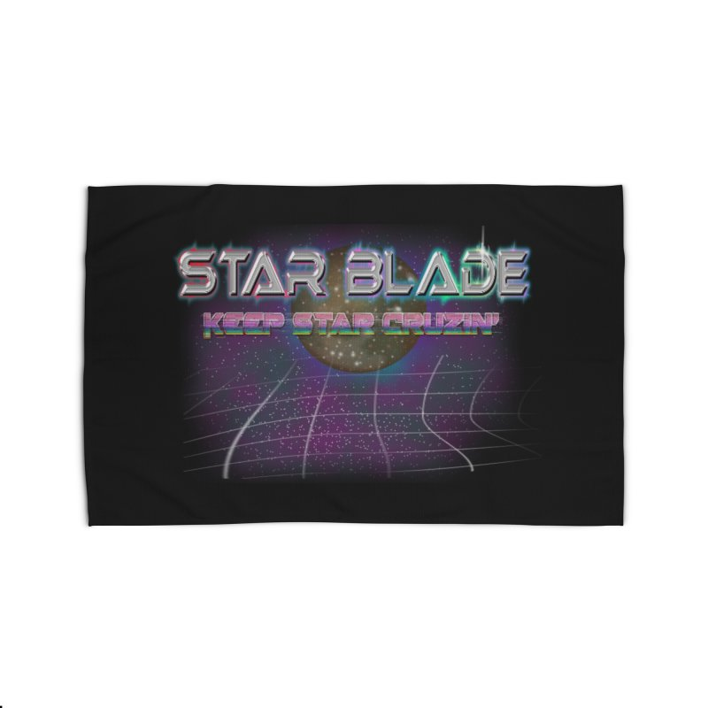 Star Blade Keep Star Cruzin' Home Rug by LlamapajamaTs's Artist Shop