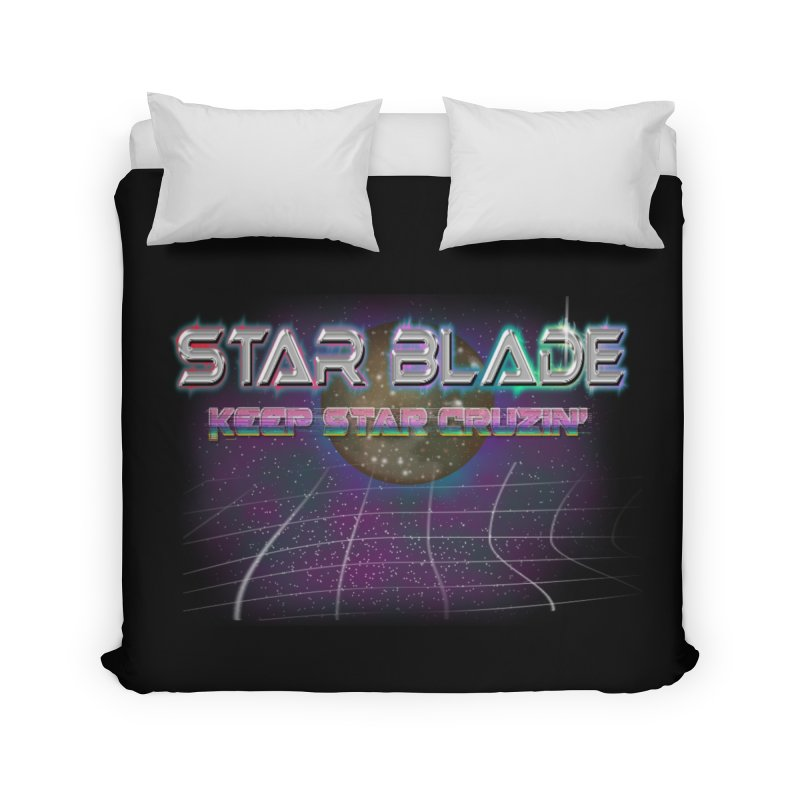 Star Blade Keep Star Cruzin' Home Duvet by LlamapajamaTs's Artist Shop