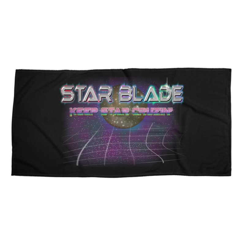 Star Blade Keep Star Cruzin' Accessories Beach Towel by LlamapajamaTs's Artist Shop
