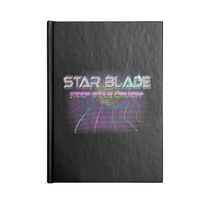 Star Blade Keep Star Cruzin' Accessories Notebook by LlamapajamaTs's Artist Shop