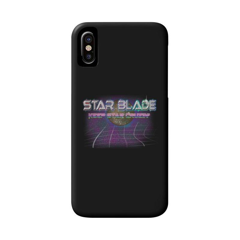 Star Blade Keep Star Cruzin' Accessories Phone Case by LlamapajamaTs's Artist Shop
