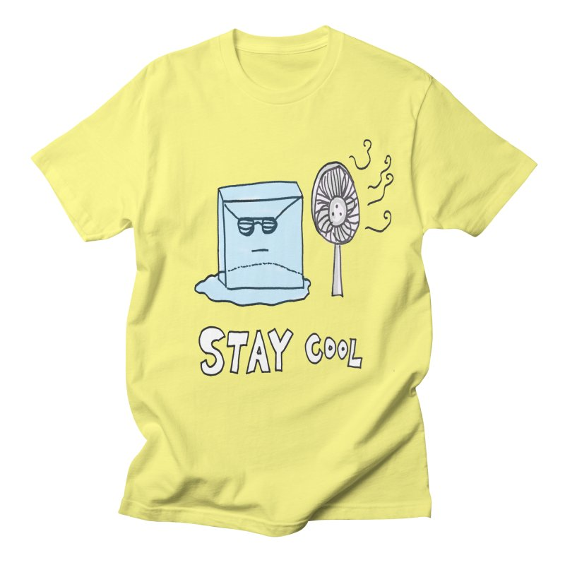 Stay Cool in Men's T-Shirt Lemon by LlamapajamaTs's Artist Shop