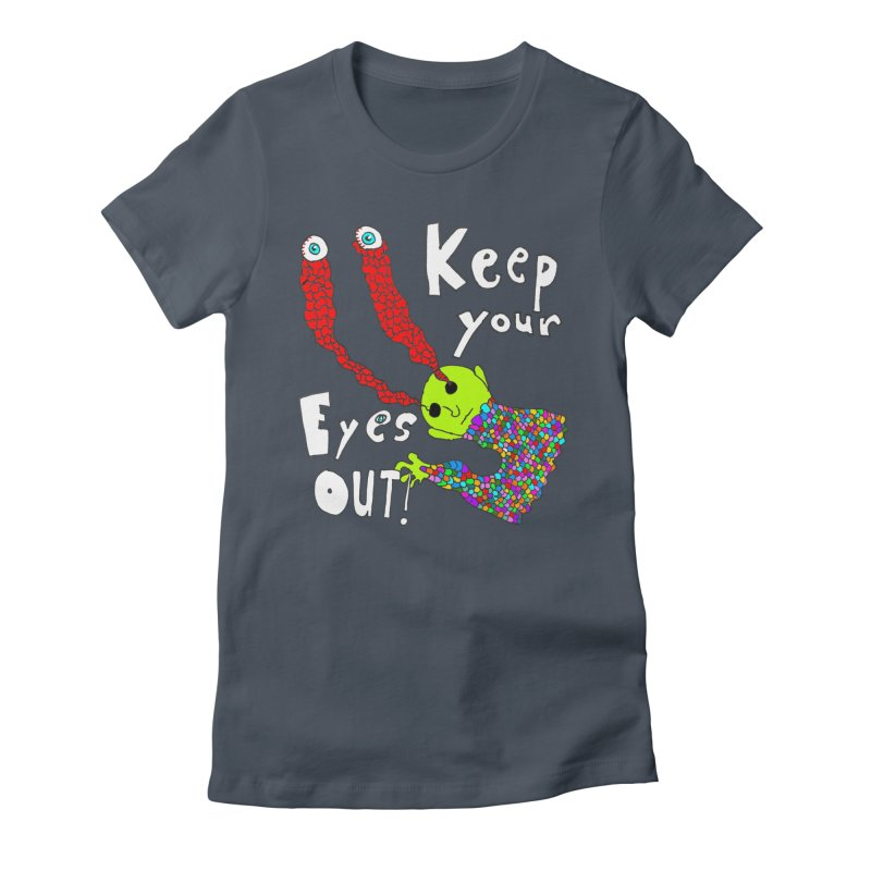 Keep Your Eyes Out! Women's Lounge Pants by LlamapajamaTs's Artist Shop