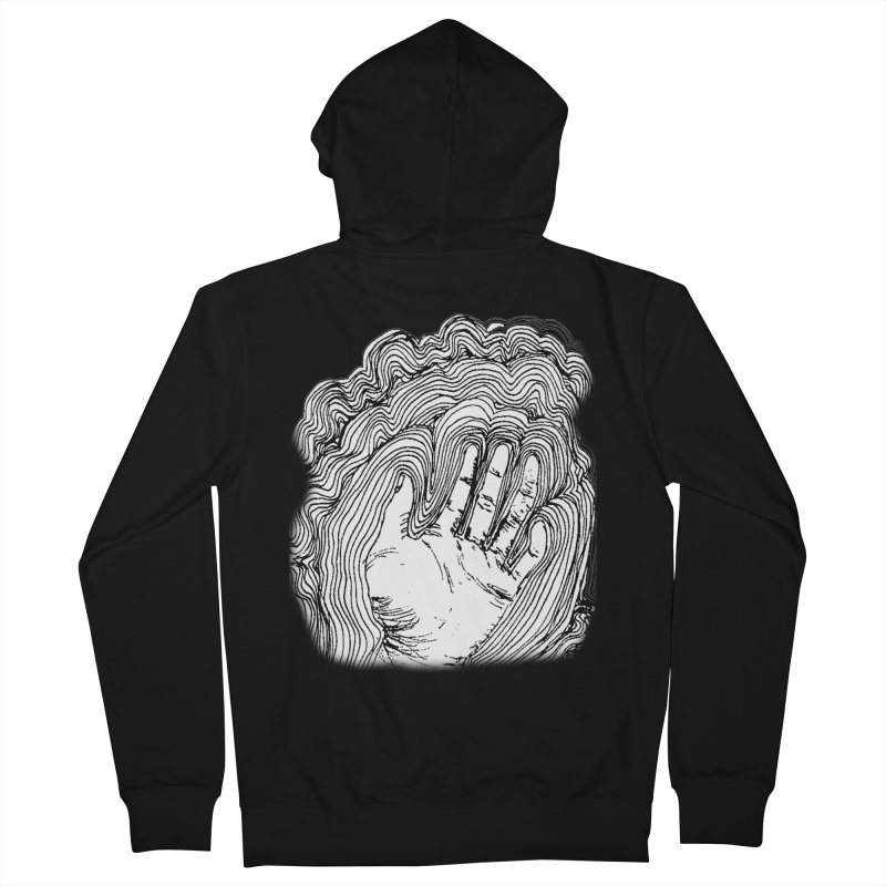 Give Me A Hand? Men's Zip-Up Hoody by LlamapajamaTs's Artist Shop