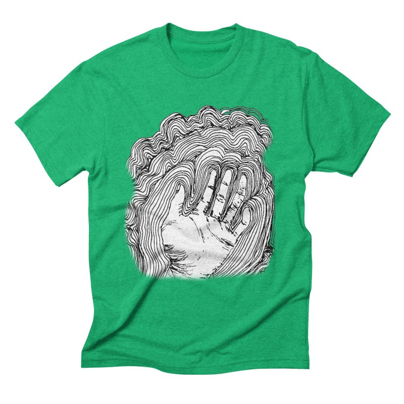 Give Me A Hand? Men's Triblend T-Shirt by LlamapajamaTs's Artist Shop