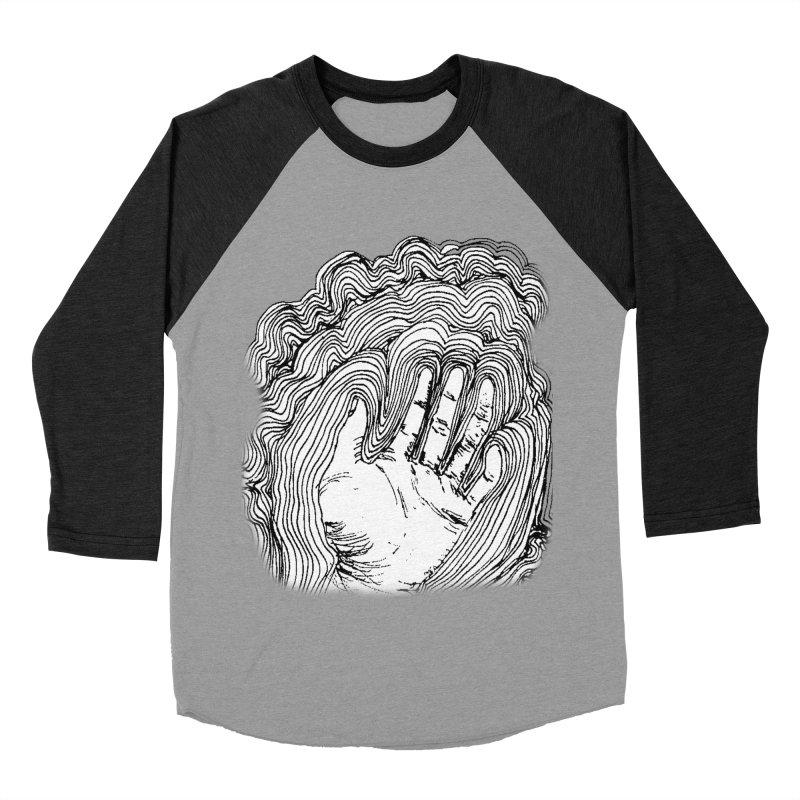Give Me A Hand? Men's Baseball Triblend T-Shirt by LlamapajamaTs's Artist Shop