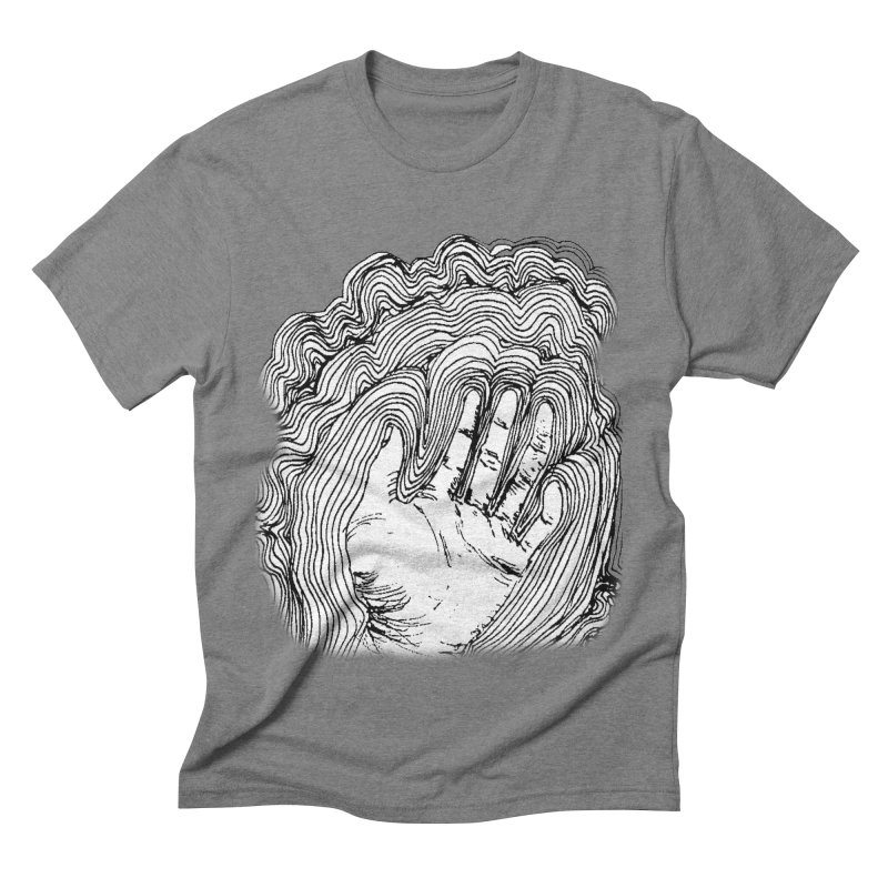Give Me A Hand? in Men's Triblend T-shirt Grey Triblend by LlamapajamaTs's Artist Shop