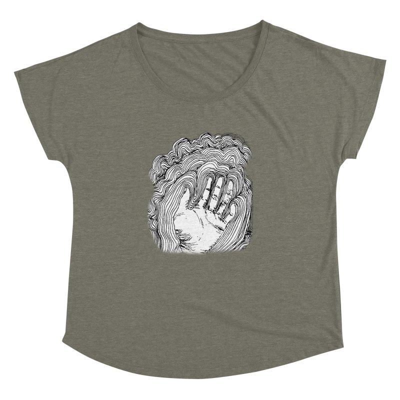 Give Me A Hand? Women's Dolman by LlamapajamaTs's Artist Shop