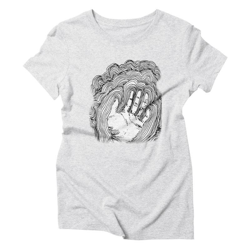 Give Me A Hand? Women's Triblend T-Shirt by LlamapajamaTs's Artist Shop