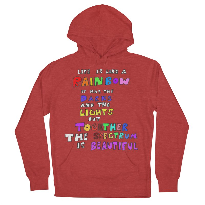 Life is Beautiful and Complicated, So Love It! Women's Pullover Hoody by LlamapajamaTs's Artist Shop