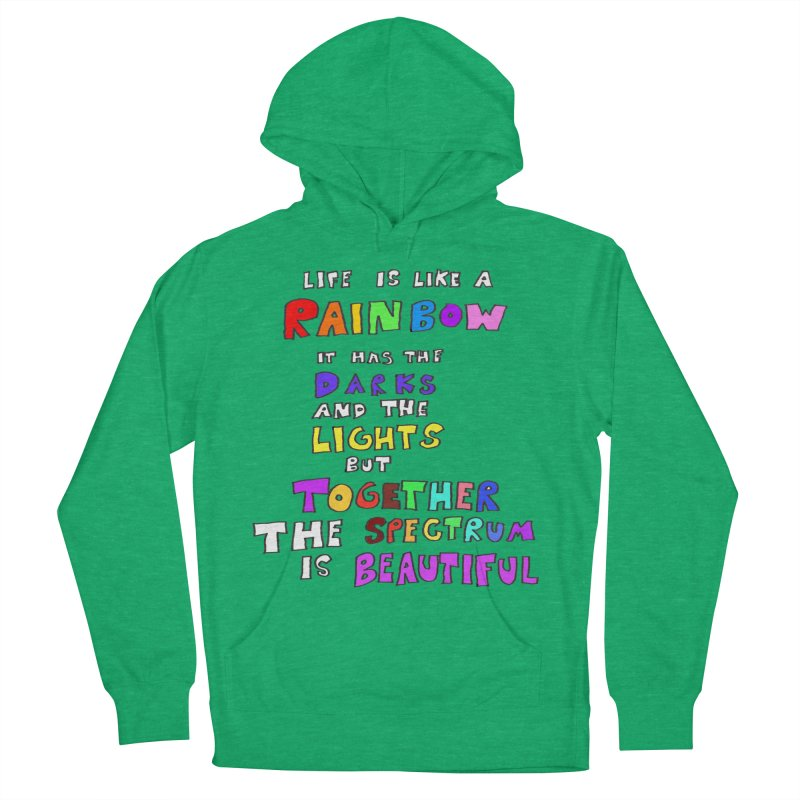 Life is Beautiful and Complicated, So Love It! Men's Pullover Hoody by LlamapajamaTs's Artist Shop