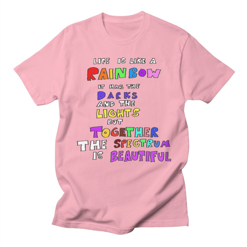 Life is Beautiful and Complicated, So Love It! Men's T-shirt by LlamapajamaTs's Artist Shop