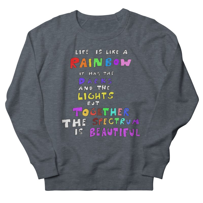Life is Beautiful and Complicated, So Love It! Men's Sweatshirt by LlamapajamaTs's Artist Shop