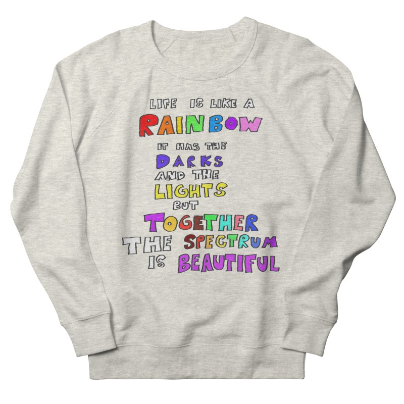 Life is Beautiful and Complicated, So Love It! Men's Sweatshirt by LlamapajamaTs's Artist Shop