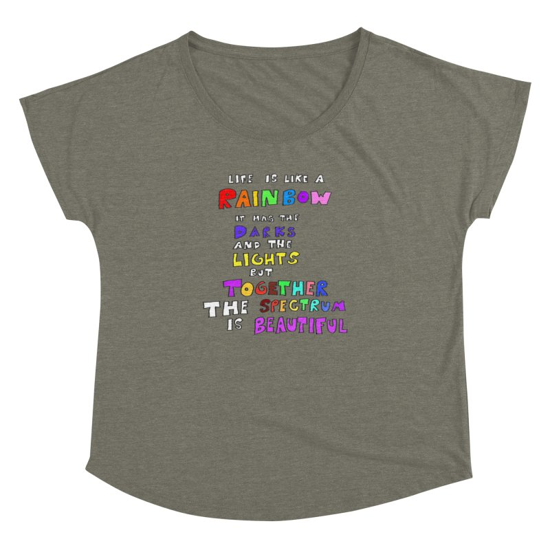 Life is Beautiful and Complicated, So Love It! Women's Dolman by LlamapajamaTs's Artist Shop