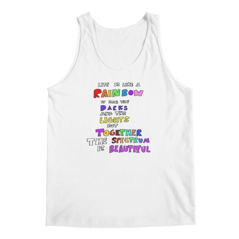 Life is Beautiful and Complicated, So Love It! Men's Tank by LlamapajamaTs's Artist Shop