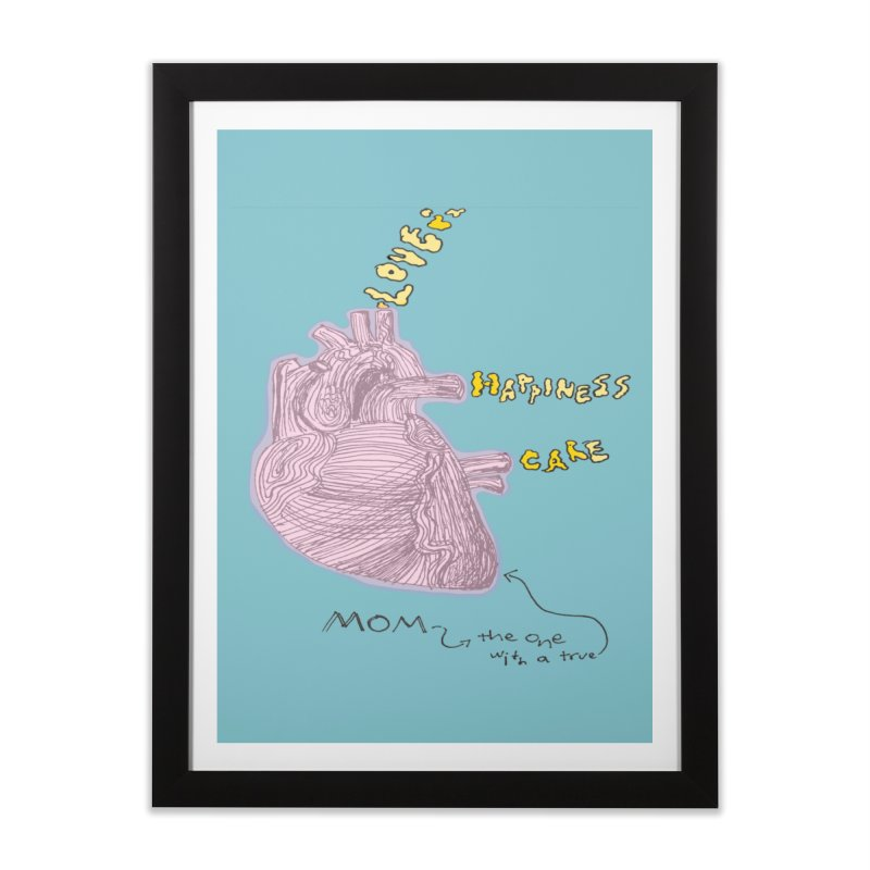 Love Factory Home Framed Fine Art Print by LlamapajamaTs's Artist Shop