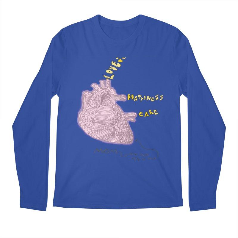 Love Factory Men's Longsleeve T-Shirt by LlamapajamaTs's Artist Shop