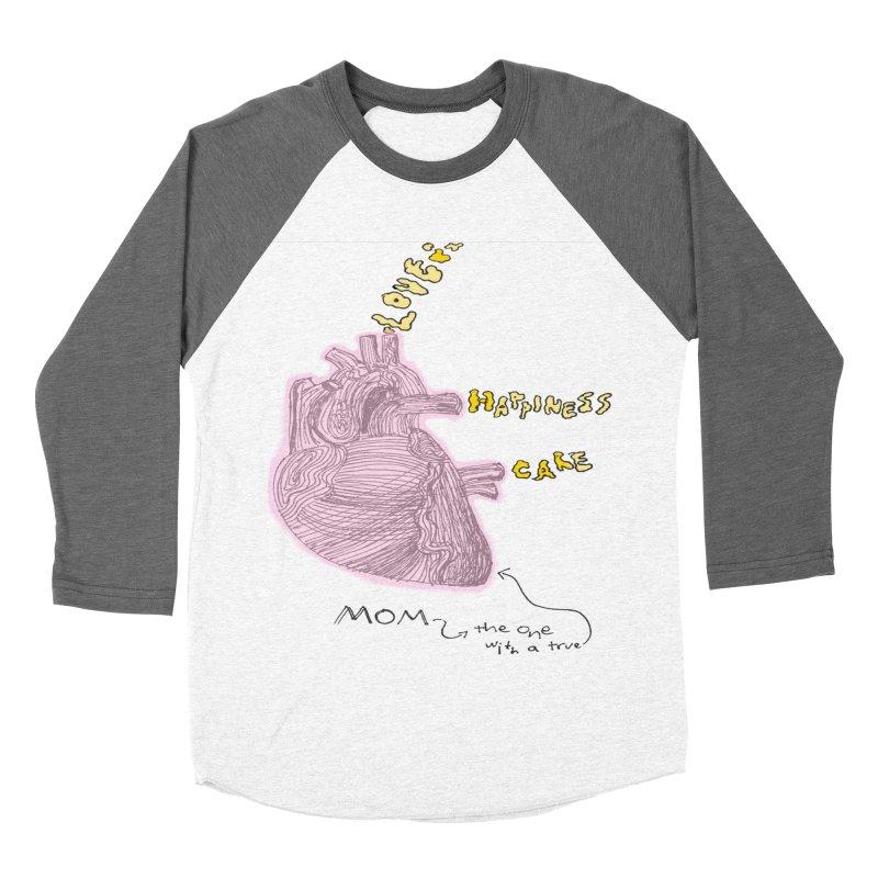 Love Factory Women's Baseball Triblend T-Shirt by LlamapajamaTs's Artist Shop
