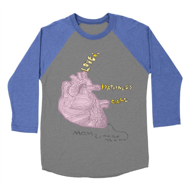 Love Factory Men's Baseball Triblend T-Shirt by LlamapajamaTs's Artist Shop