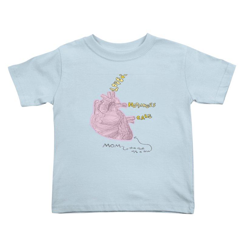 Love Factory Kids Toddler T-Shirt by LlamapajamaTs's Artist Shop