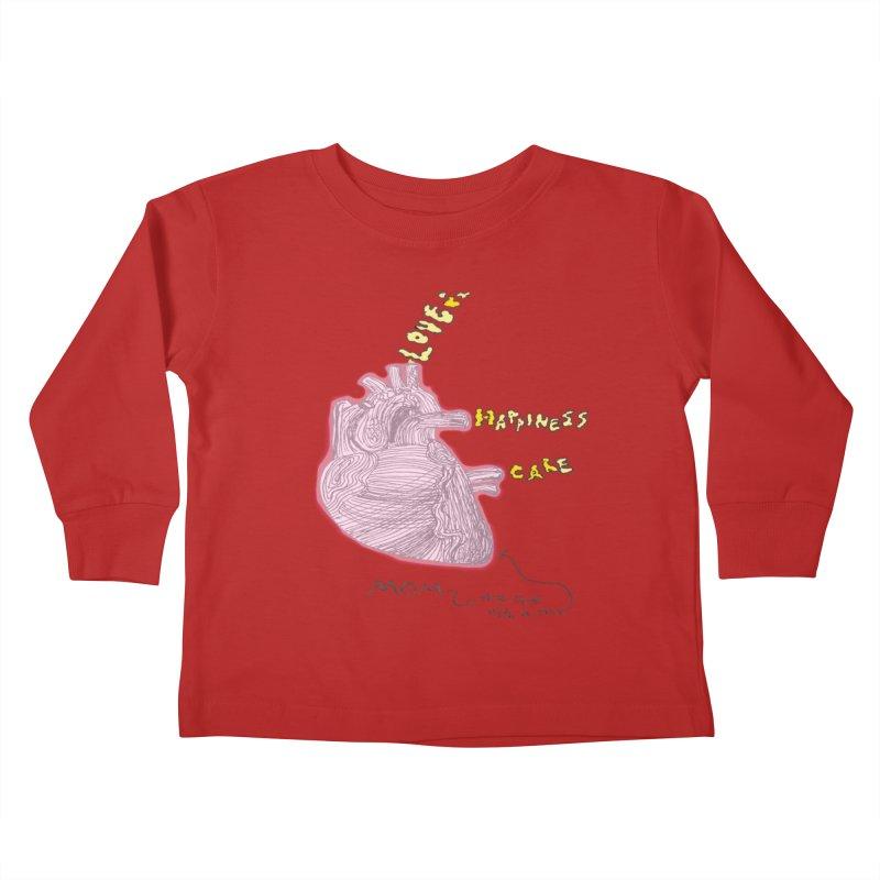 Love Factory Kids Toddler Longsleeve T-Shirt by LlamapajamaTs's Artist Shop