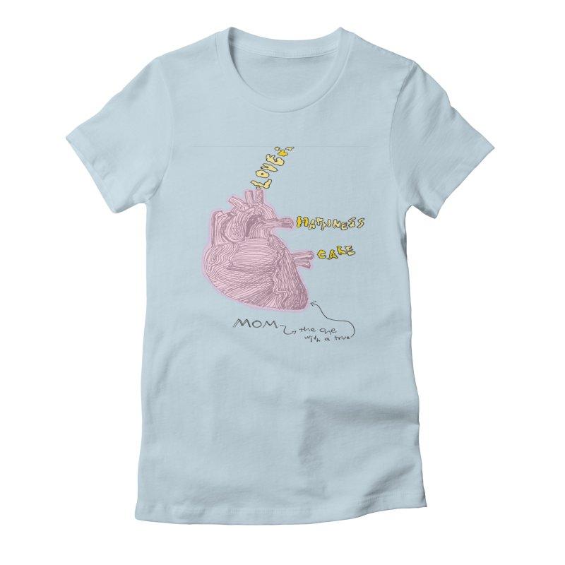 Love Factory Women's Fitted T-Shirt by LlamapajamaTs's Artist Shop