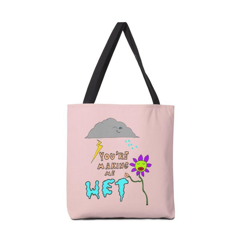 You're Making Me Wet Accessories Bag by LlamapajamaTs's Artist Shop