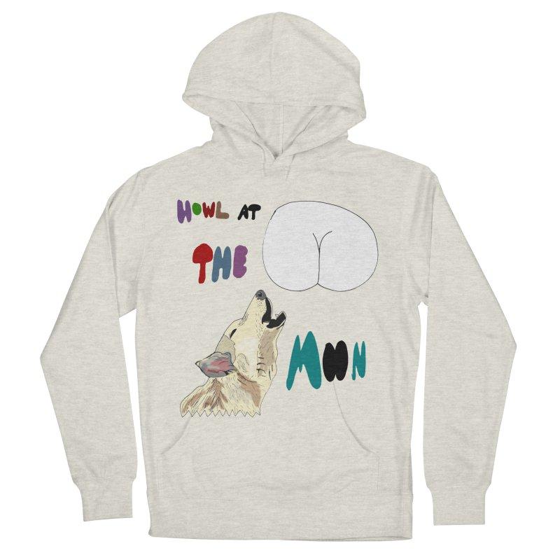 Howl at the Moon Women's Pullover Hoody by LlamapajamaTs's Artist Shop
