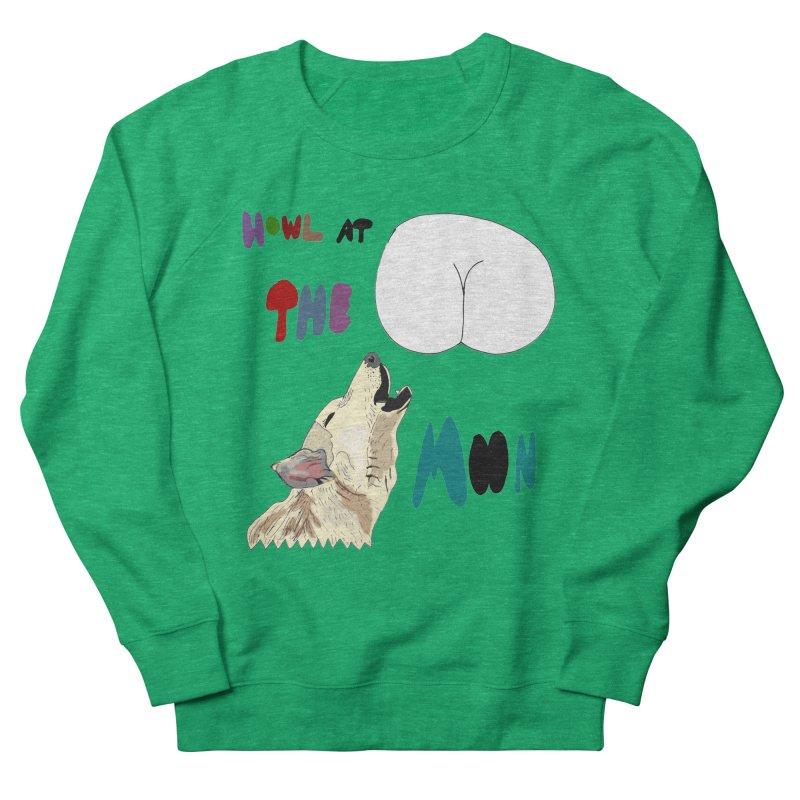 Howl at the Moon Women's Sweatshirt by LlamapajamaTs's Artist Shop