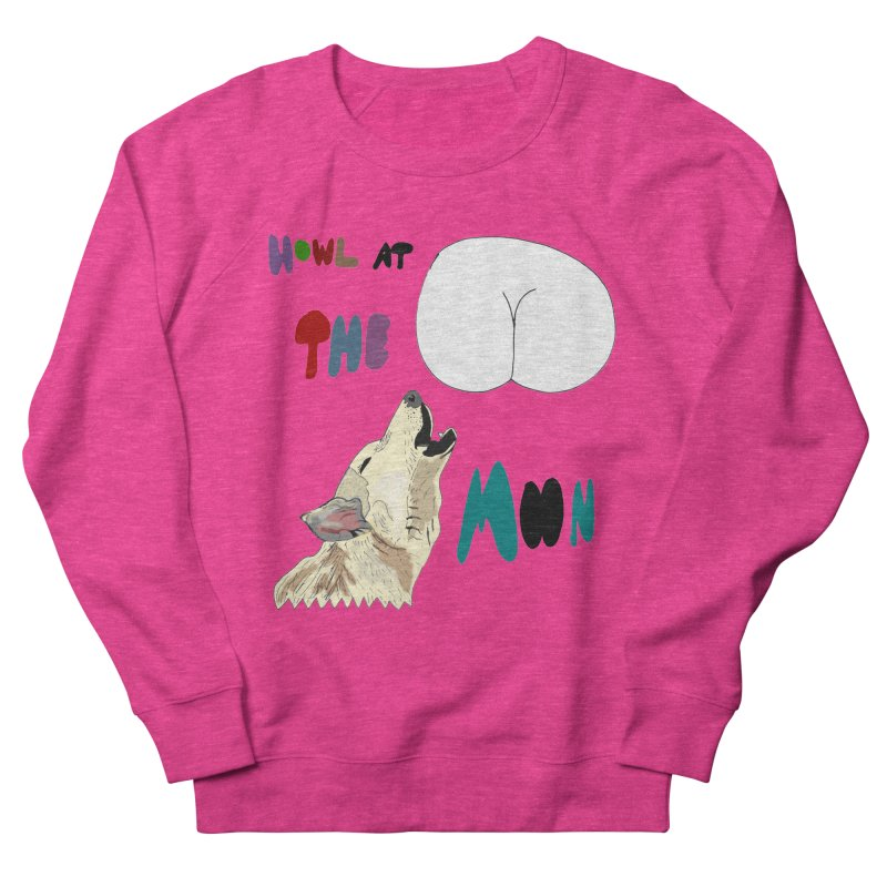 Howl at the Moon Men's Sweatshirt by LlamapajamaTs's Artist Shop