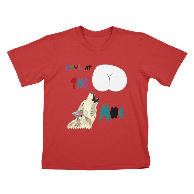 Howl at the Moon Kids T-shirt by LlamapajamaTs's Artist Shop