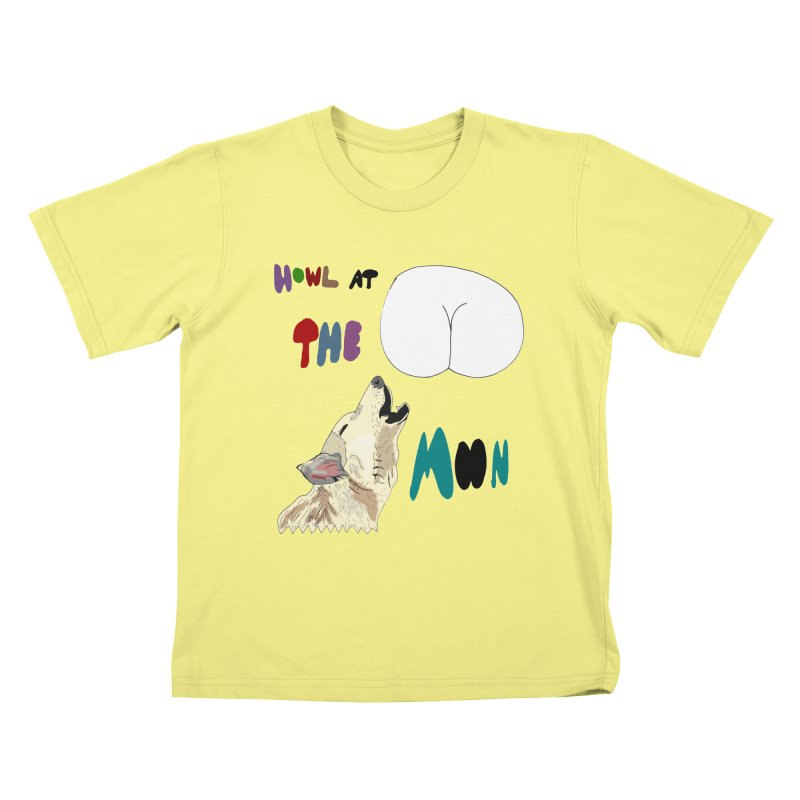 Howl at the Moon Kids T-shirt by LlamapajamaTs's Artist Shop