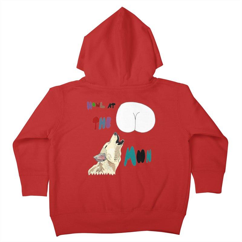 Howl at the Moon Kids Toddler Zip-Up Hoody by LlamapajamaTs's Artist Shop