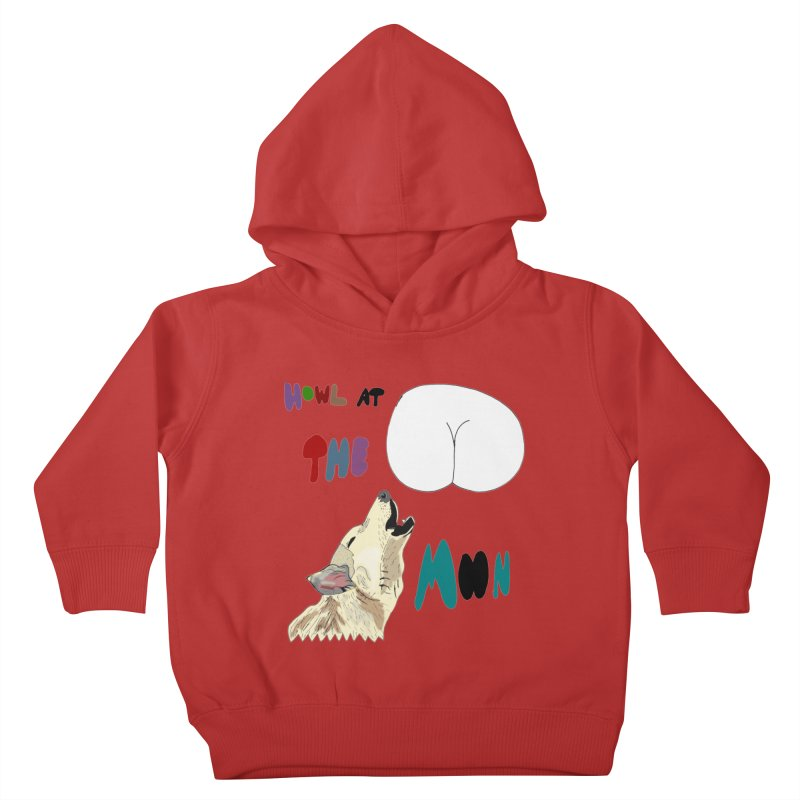 Howl at the Moon Kids Toddler Pullover Hoody by LlamapajamaTs's Artist Shop