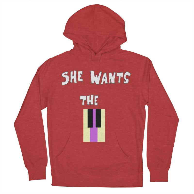 She Wants the D Women's Pullover Hoody by LlamapajamaTs's Artist Shop