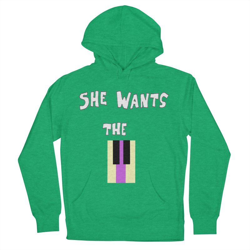 She Wants the D Men's Pullover Hoody by LlamapajamaTs's Artist Shop