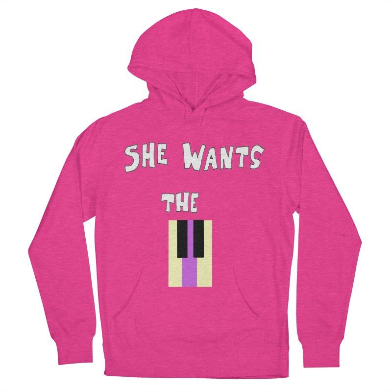 She Wants the D Men's Pullover Hoody by LlamapajamaTs's Artist Shop