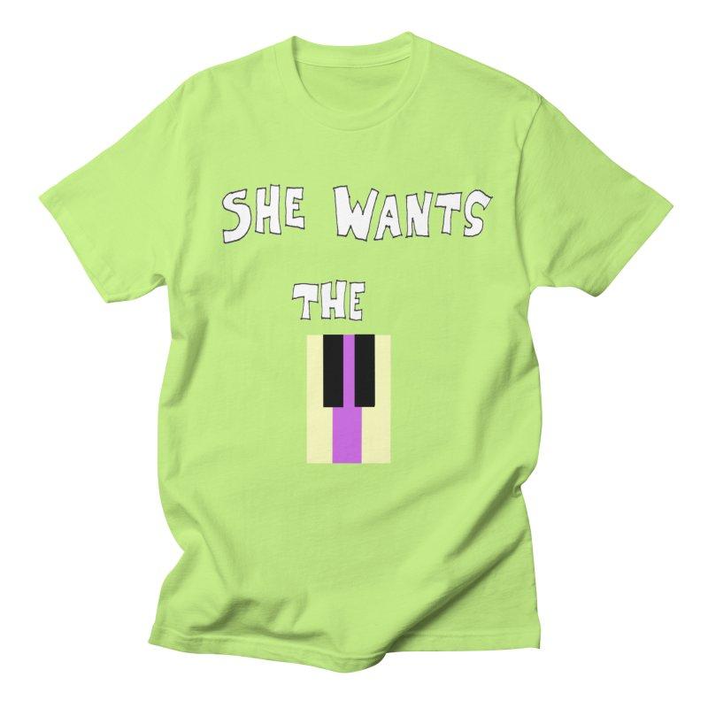 She Wants the D Men's T-Shirt by LlamapajamaTs's Artist Shop