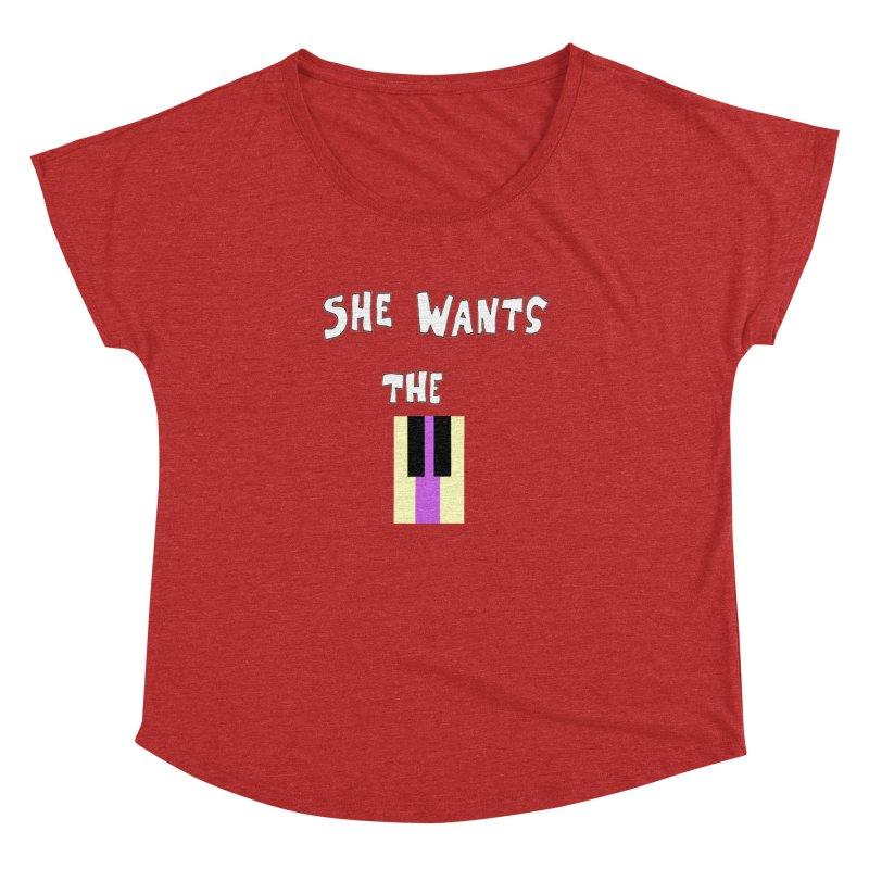 She Wants the D Women's Dolman by LlamapajamaTs's Artist Shop