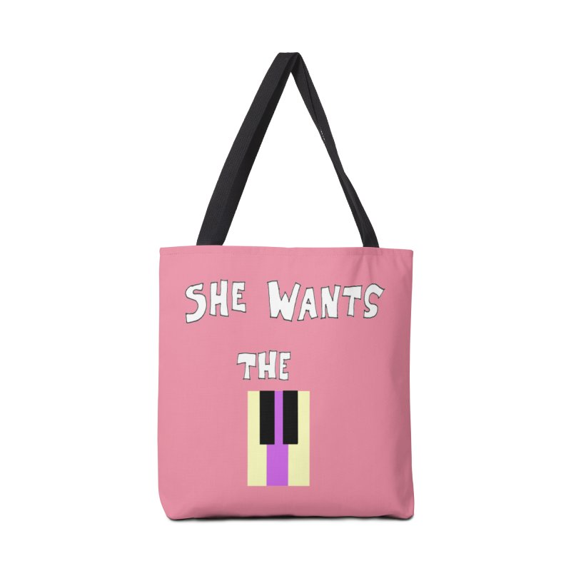 She Wants the D Accessories Bag by LlamapajamaTs's Artist Shop