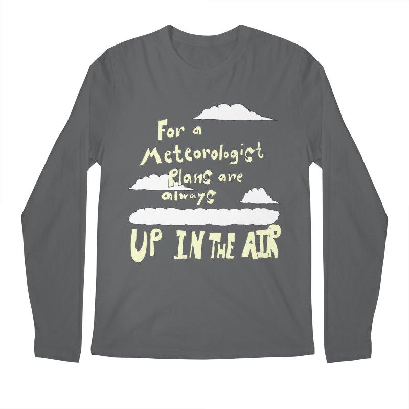 Meteorologist Plans Men's Longsleeve T-Shirt by LlamapajamaTs's Artist Shop