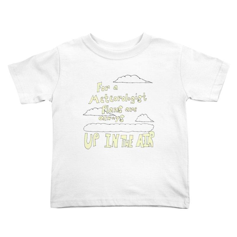 Meteorologist Plans Kids Toddler T-Shirt by LlamapajamaTs's Artist Shop