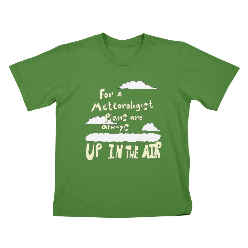 Meteorologist Plans Kids T-shirt by LlamapajamaTs's Artist Shop