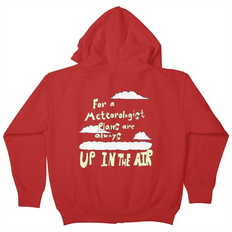 Meteorologist Plans Kids Zip-Up Hoody by LlamapajamaTs's Artist Shop