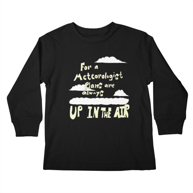 Meteorologist Plans Kids Longsleeve T-Shirt by LlamapajamaTs's Artist Shop
