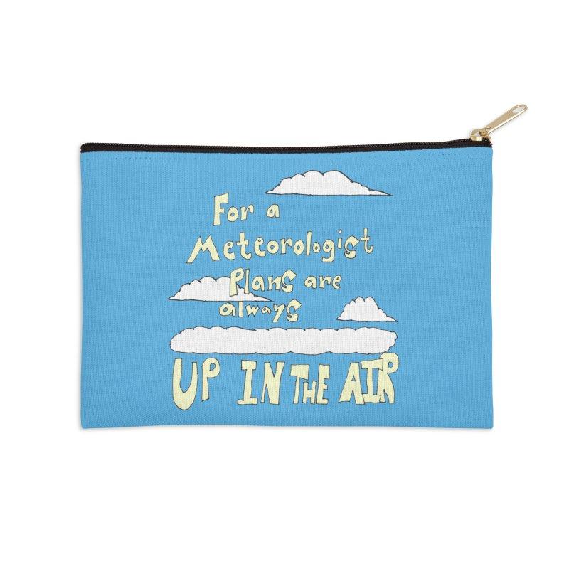 Meteorologist Plans Accessories Zip Pouch by LlamapajamaTs's Artist Shop