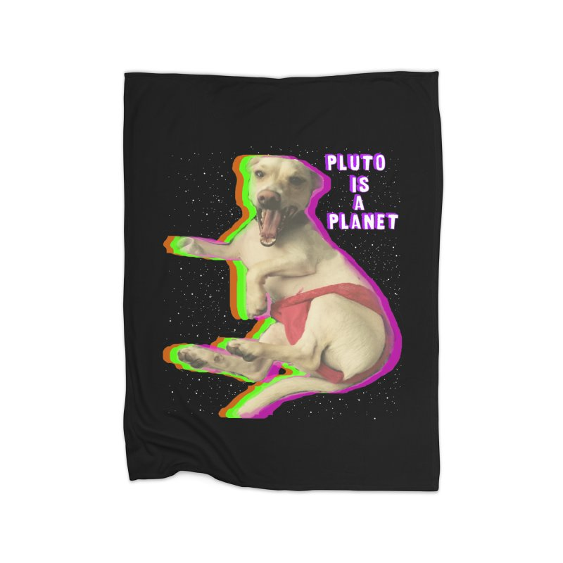 Pluto is a Planet!! Home Blanket by LlamapajamaTs's Artist Shop