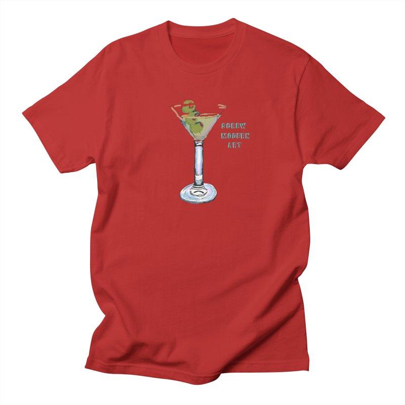 Screw Modern Art Men's T-shirt by LlamapajamaTs's Artist Shop